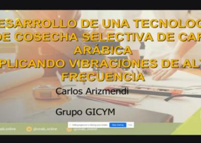 Carlos J. Arizmendi P.  Desarrollo de una tecnología de cosecha selectiva de café arábica aplicando vibraciones de alta frecuencia.