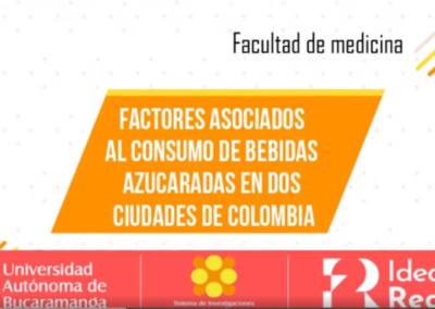 Laura M. Pinto C.  Daniela Ramírez H.  Luis E. Ariza A.  Factores asociados al consumo de bebidas azucaradas en escolares de dos ciudades de Colombia.