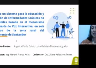 Angélica Y. Pinilla G  Luisa G. Martínez A.  Diseño de un sistema para la educación y prevención de enfermedades crónicas no transmisibles basado en el mecanismo de respuesta de voz interactiva, en siete municipios de la zona rural del departamento de Santander.