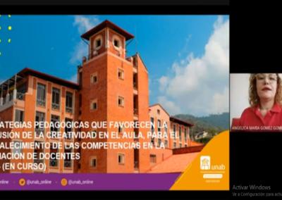 Angelica M. Gómez G.  Estrategias pedagógicas que favorecen la inclusión de la creatividad en el aula, para el fortalecimiento de las competencias en la formación de docentes.