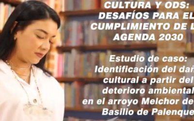 Luisa F. Guerra C.  Desafíos para el cumplimiento de los ODS. Caso: Daño cultural a partir del deterioro ambiental en el Arroyo Melchor de San Basilio de Palenque
