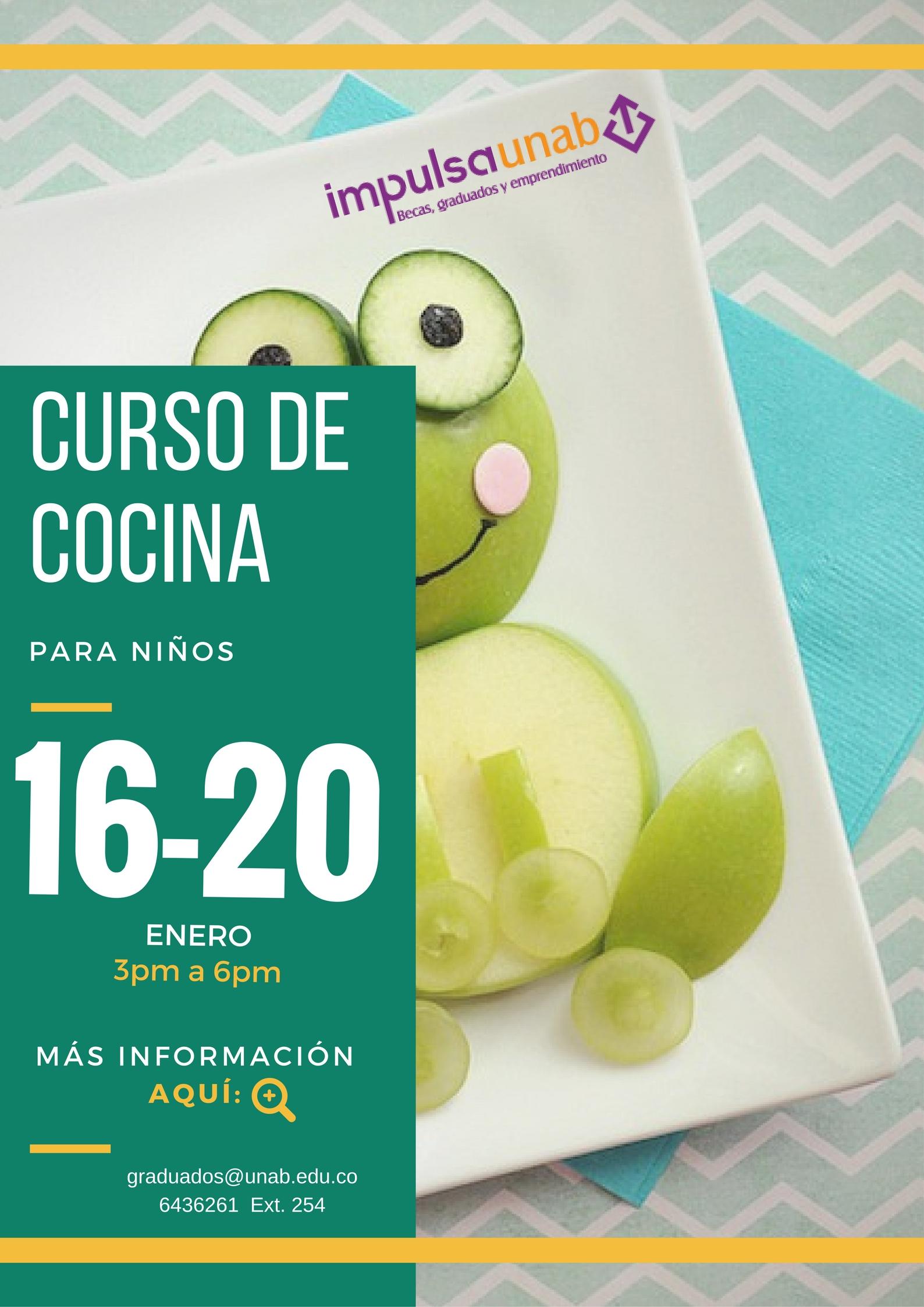 En Enero Curso De Cocina Para Ninos Universidad Autonoma De